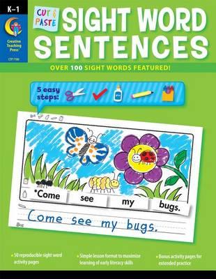 Cut & Paste Sight Words Sentences by Rozanne Lanczak Williams