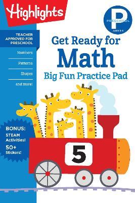 Preschool Get Ready for Math Big Fun Practice Pad book