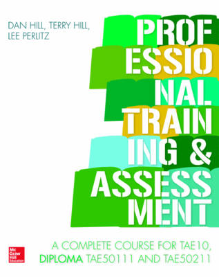 Professional Training and Assessment by Terry Hill