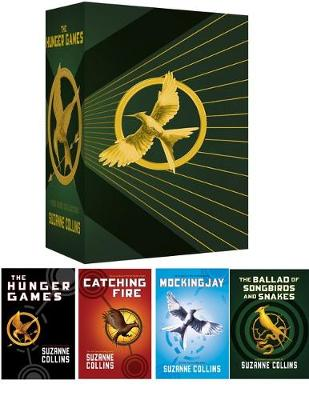 Hunger Games 4 Book Boxed Set by Suzanne Collins