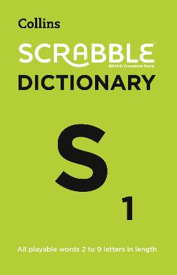 SCRABBLE (R) Dictionary: The official SCRABBLE (R) solver - all playable words 2 - 9 letters in length by Collins Dictionaries