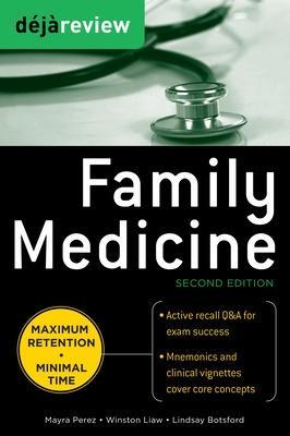 Deja Review Family Medicine by Mayra Chavez Perez