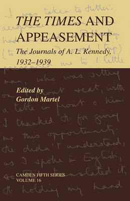 The Times and Appeasement by Gordon Martel