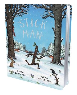 ~ Stick Man Gift Edition Board Book by Julia Donaldson