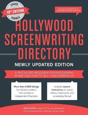 Hollywood Screenwriting Directory Spring/Summer by Jesse Douma