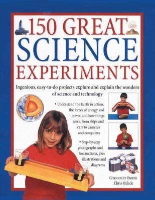 150 Great Science Experiments book