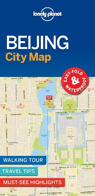 Lonely Planet Beijing City Map by Lonely Planet