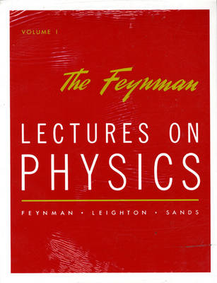Lectures on Physics: Commemorative Issue, Three Volume Pkg by Richard P. Feynman