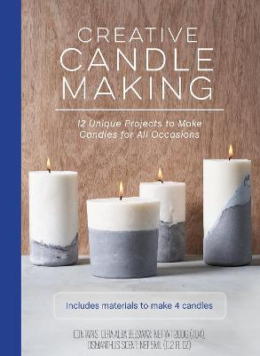Creative Candle Making: 12 Unique Projects to Make Candles for All Occasions - Includes Materials to Make 4 Candles book