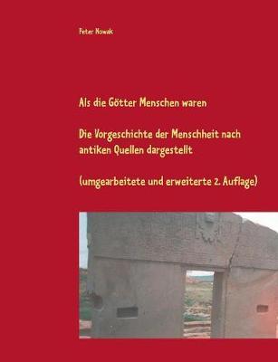 ALS Die G tter Menschen Waren by Peter Nowak