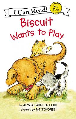 Biscuit Wants to Play by Alyssa Satin Capucilli