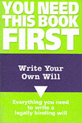 Write Your Own Will by Mark Fairweather