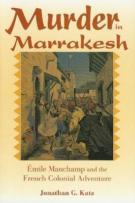 Murder in Marrakesh book