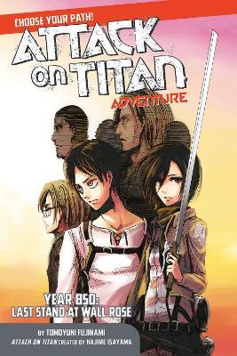 Attack On Titan Choose Your Path Adventure 1 by Hajime Isayama