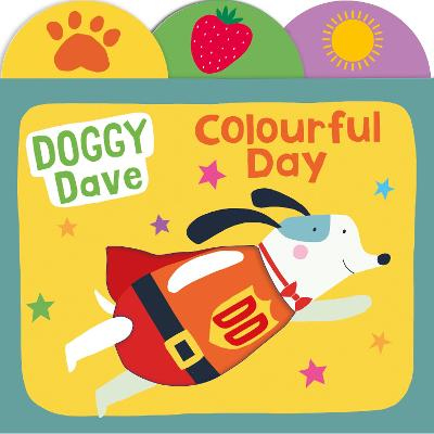 Doggy Dave Colourful Day book
