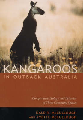 Kangaroos in Outback Australia by Dale R. McCullough