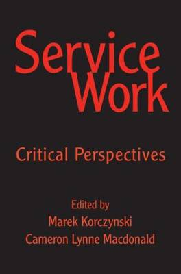 Service Work by Cameron MacDonald