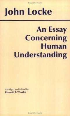 Essay Concerning Human Understanding book