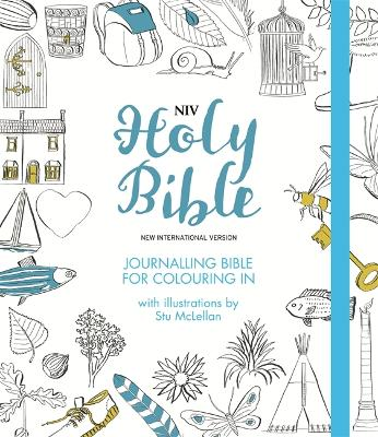 NIV Journalling Bible for Colouring In by New International Version