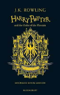 Harry Potter and the Order of the Phoenix - Hufflepuff Edition by J.K. Rowling