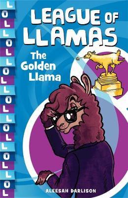 League of Llamas 1: The Golden Llama book