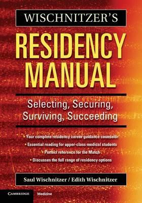 Wischnitzer's Residency Manual book