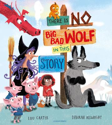 There Is No Big Bad Wolf In This Story book