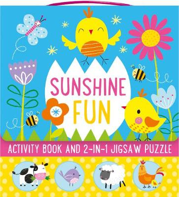 Sunshine Fun: Activity Book and 2-in-1 Jigsaw Puzzle by Parragon Books Ltd