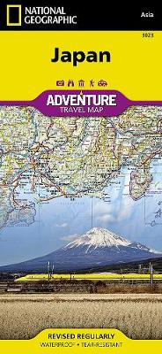Japan: Travel Maps International Adventure Map by National Geographic