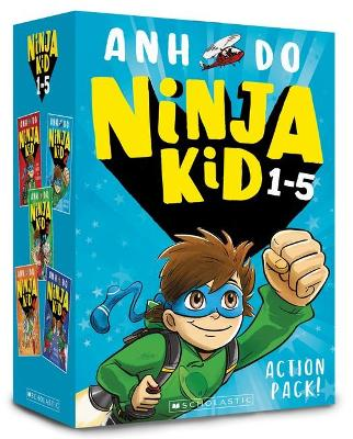 Ninja Kid 1-5 Action Pack! by Anh Do
