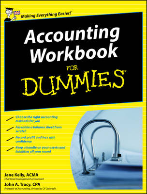 Accounting Workbook For Dummies by John A. Tracy