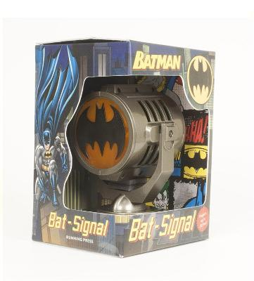 Batman: Metal Die-Cast Bat-Signal book