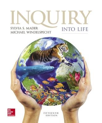 Inquiry into Life by Sylvia S. Mader
