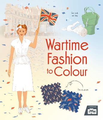 Wartime Fashion to Colour book