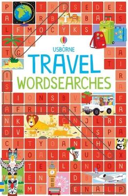 Travel Wordsearches book