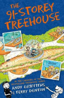 The 91-Storey Treehouse by Andy Griffiths