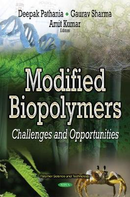 Modified Biopolymers by Deepak Pathania