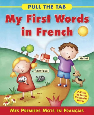 Pull the Tab: My First Words in French by Delany Sally