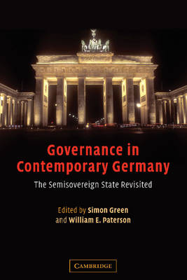 Governance in Contemporary Germany by Simon Green