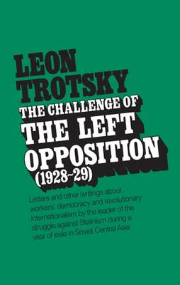 The Challenge of the Left Opposition by L. Trotskii