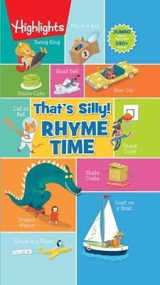 That's Silly! Rhyme Time book