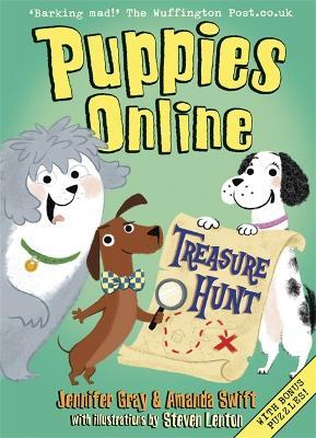 Puppies Online: Treasure Hunt by Amanda Swift