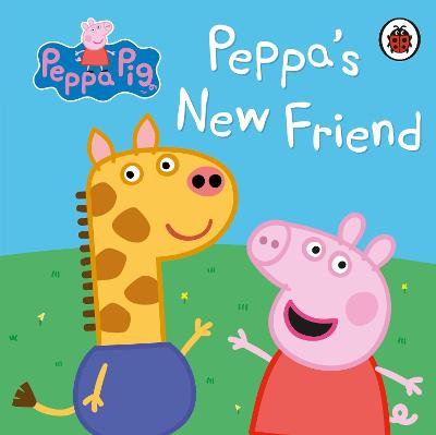 Peppa Pig: Peppa's New Friend book