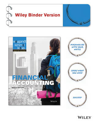 Financial Accounting 9E Binder Ready Version with WileyPlus Card by Jerry J. Weygandt