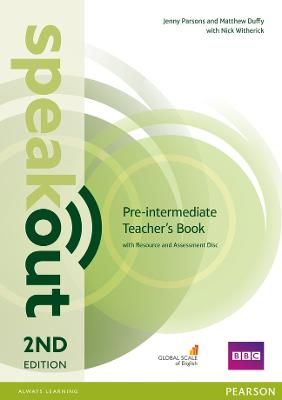 Speakout Pre-Intermediate 2nd Edition Teacher's Guide with Resource & Assessment Disc Pack book