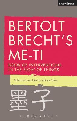 Bertolt Brecht's Me-ti by Bertolt Brecht