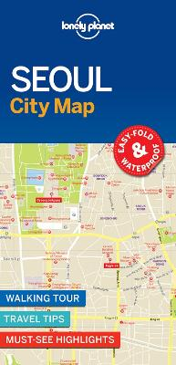 Lonely Planet Seoul City Map by Lonely Planet