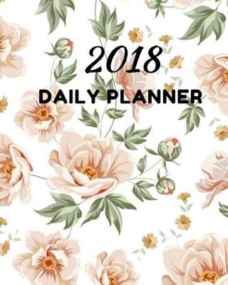 2018 Daily Planner book