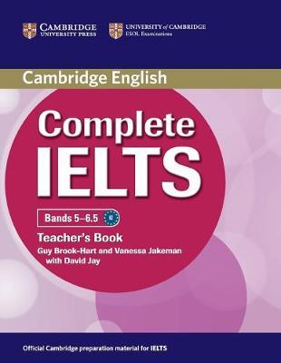 Complete IELTS Bands 5-6.5 Teacher's Book by Guy Brook-Hart