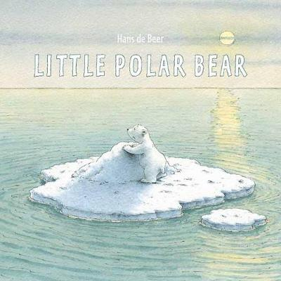 The Little Polar Bear Board Book by Hans de Beer